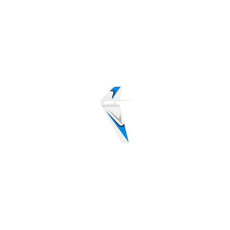 Ailette de Queue Blanc/bleu WLTOYS V911