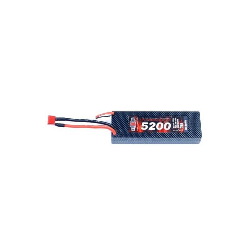 Accu LiPo 2S 35C 7,4V 5200 mAh DEAN