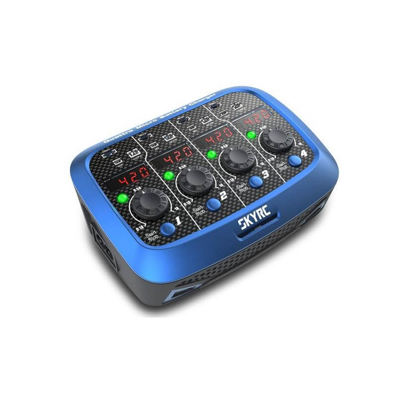 Chargeur Quattro Micro battery AC/DC SkyRc - SKY100079