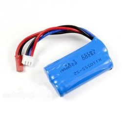 Batterie 7.4 V 650mAh (5,2 x 2,8 x 1,4 mm)