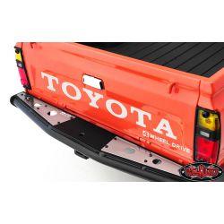 RC4WD Stickers métal Toyota (Blanc) VVV-C0291