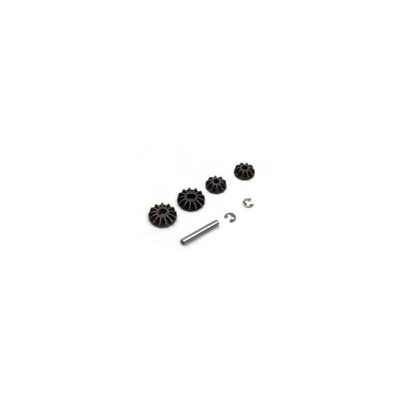 Différentiel Gear (4pcs) S10 Blast BX, TX, MT - LRP 120972