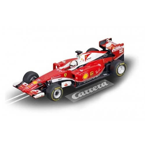voiture de circuit carrera go ferrari sf16 h vettel 5 64086. Black Bedroom Furniture Sets. Home Design Ideas
