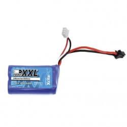 Batterie 7,4V 600mAh Monster EAGLE Xciterc (54x28x15mm)