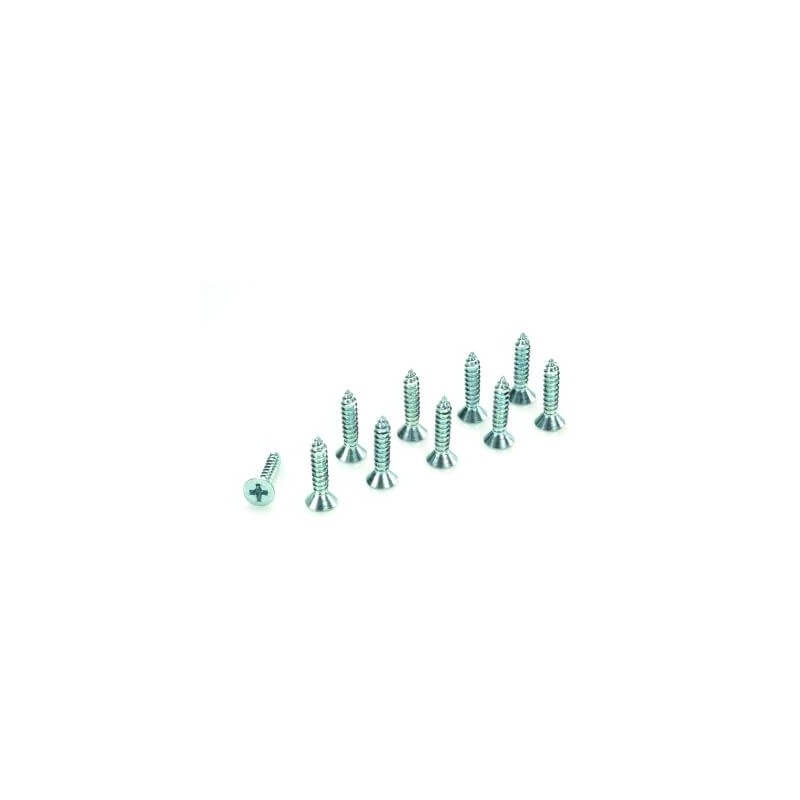 Vis Tete Cruciforme acier galva 2.9x6,5 (X10)