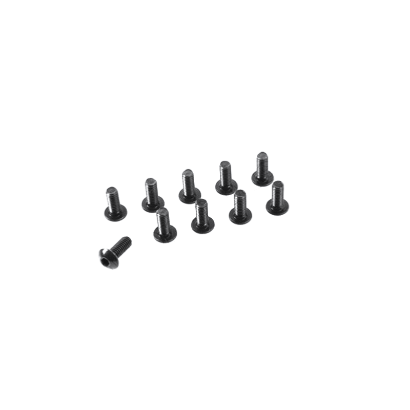 Vis acier Tete Ronde 6 pans M3X16mm (x10)