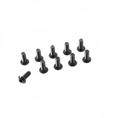 Vis acier Tete Ronde 6 pans M3X20mm (x10)
