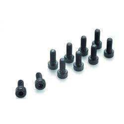 Vis acier Cylindrique 6 pans M4x12mm (X10)