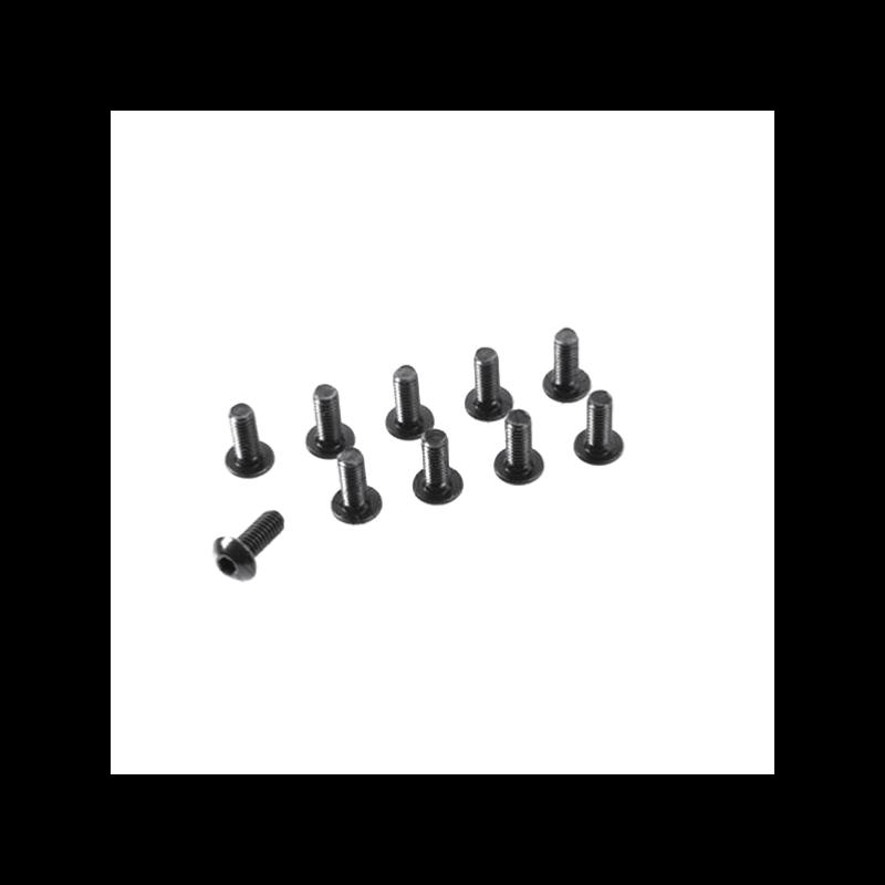 Vis acier Tete Ronde 6 pans M4X8mm (x10)