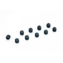 Vis acier Sans Tete 6 pans 4x10mm (x10)