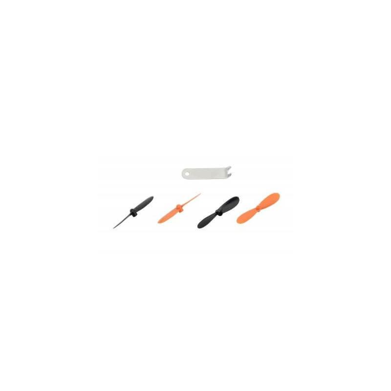 Hélices + saute hélices Rocket 65XS - NANO Flip - U839