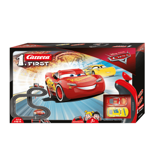 circuit voiture 3 ans carrera first 63011 disney pixar cars 3. Black Bedroom Furniture Sets. Home Design Ideas