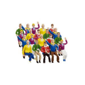 Carrera Set figurines grand stand CA21129