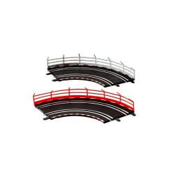 Carrera GO!!! Rail de sécurité (x10 pièces) CA61651