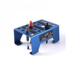 Stand, Plateau Alu pour Voitures rc - FAST410B