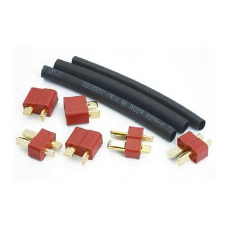 Prise deans 3 Paires + gaines Thermo