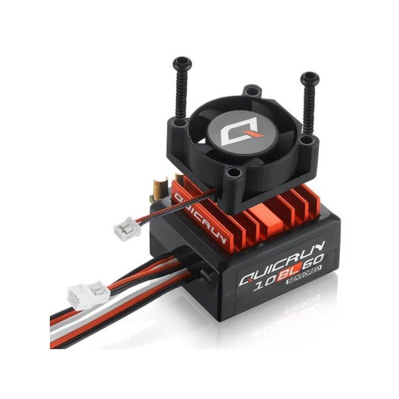 Hobbywing Variateur QuicRun 60A Sensored 10BL60 HW30108000