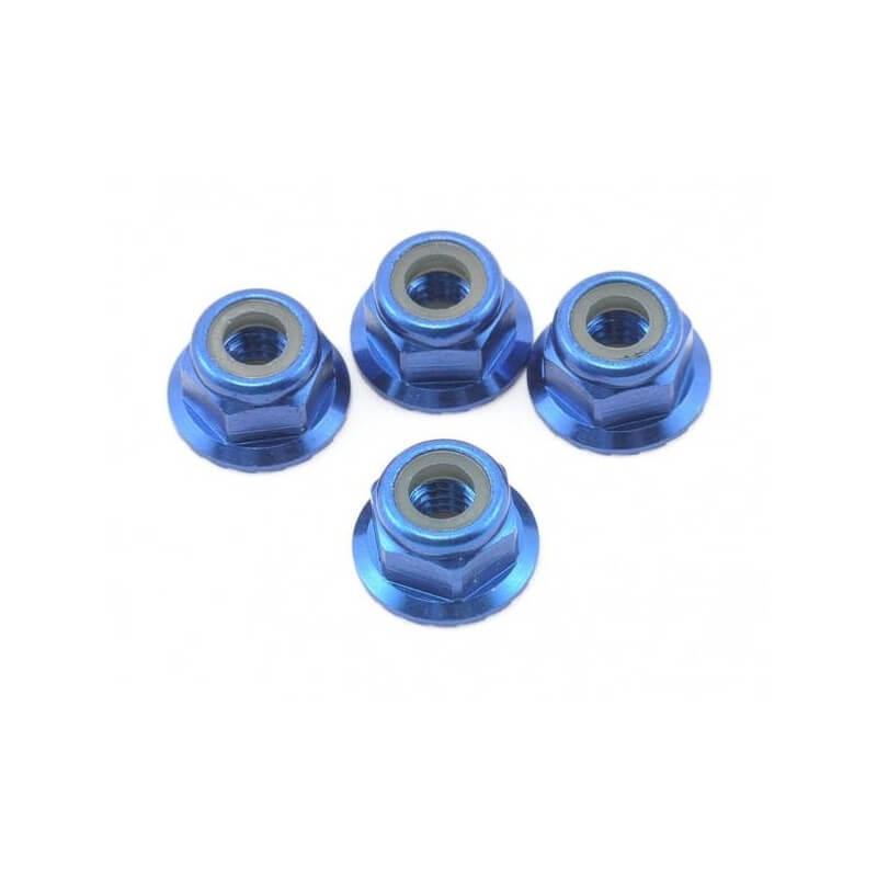 Ecrous nylstop épaules 4mm (x4) - Traxxas TRX 1747R
