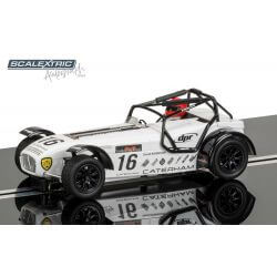 SCALEXTRIC C3723AE Autograph Series Caterham Superlight - David Robinson
