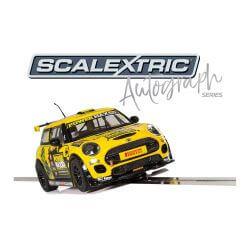Scalextric C3742AE Autograph Series MINI Cooper F56 - Harry Vaulkhard