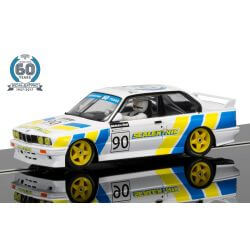 Scalextric C3829A BMW E30 M3 60th Anniversary Collection Limited Edition