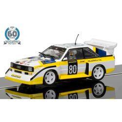 Scalextric C3828A Audi Sport Quattro S1 E2 60th Ann Limited Edition