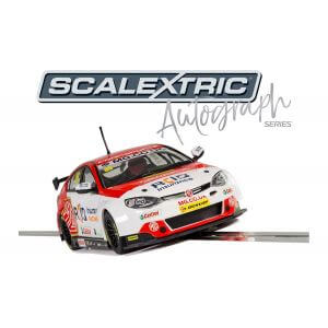 Scalextric C3863AE Autograph Series Josh Cook BTCC MG6 Triple Eight Racing