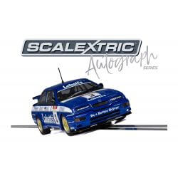 Scalextric - C3867AE - Ford Sierra RS500 Autograph Series Signed by Tim Harvey