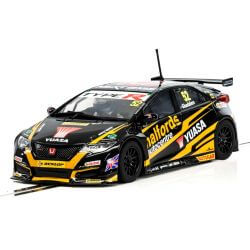 Scalextric C3919 BTCC Honda Civic Type R 2017 Halfords Yuassa Racing No.52