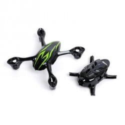 Coque Noire/Verte Hubsan  H107C
