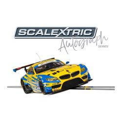 Scalextric C3720AE Autograph Series BMW Z4 GT3 - Andy Priaulx - Special Edition