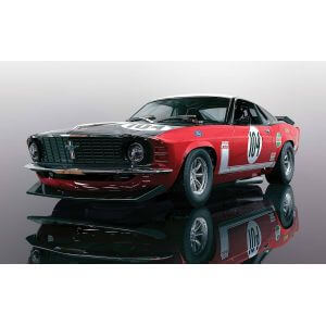 Scalextric C3926 Ford Mustang Boss 302 - British Saloon Car Championship 1970