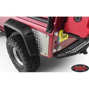 RC4WD Crawling Plaque métal arrière Traxxas TRX-4
