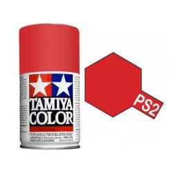 Peinture Lexan PS2 Rouge Tamiya 86002