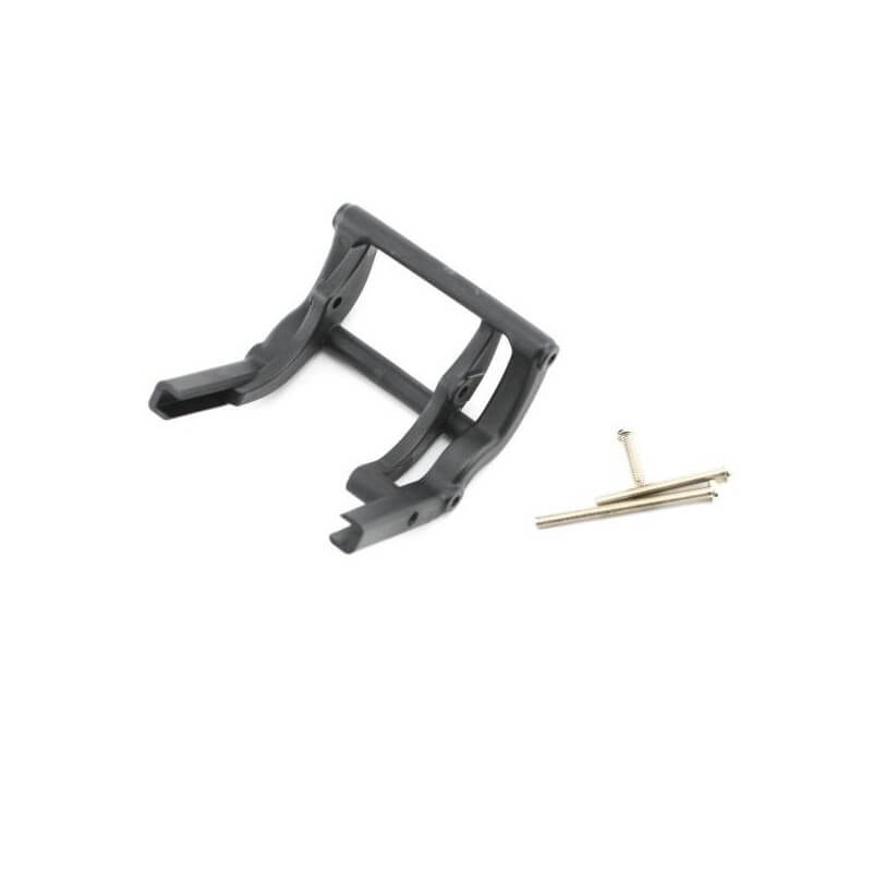 Support de wheelie bar noir- Traxxas 3677