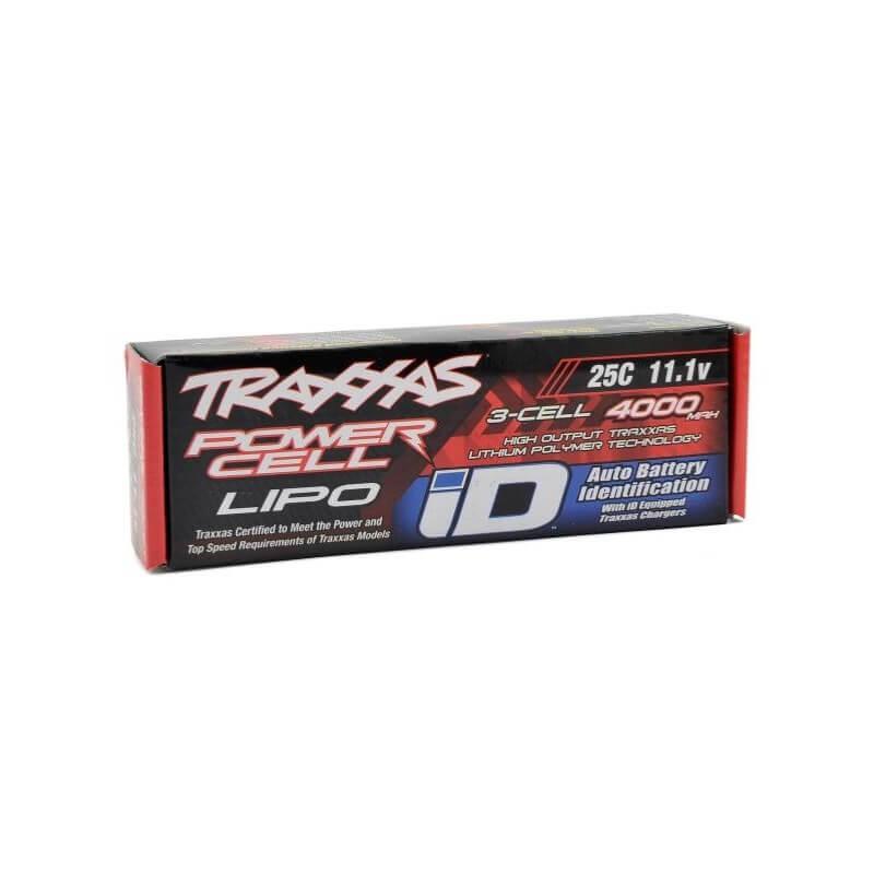 Accu Lipo ID 11,1V 4000mAh 25C - Traxxas 1/10 TRX 2849X