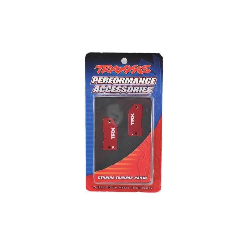 étriers de fusées (30 degrés), rouge aluminium - Traxxas TRX 3632X