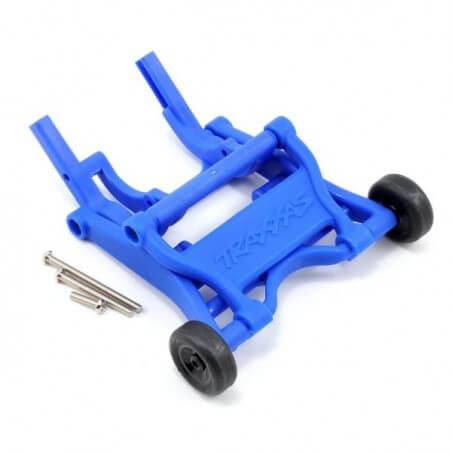 Kit wheelie bar bleu complet slash/stampede/rustler - Traxxas 3678X