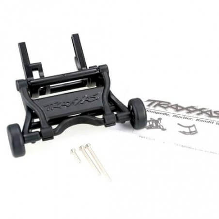 Kit wheelie bar noir complet slash/stampede/rustler - Traxxas 3678