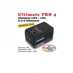 Chargeur Lipo Ultimate PRO 4 - Lipo 1 é 4S - Z032059