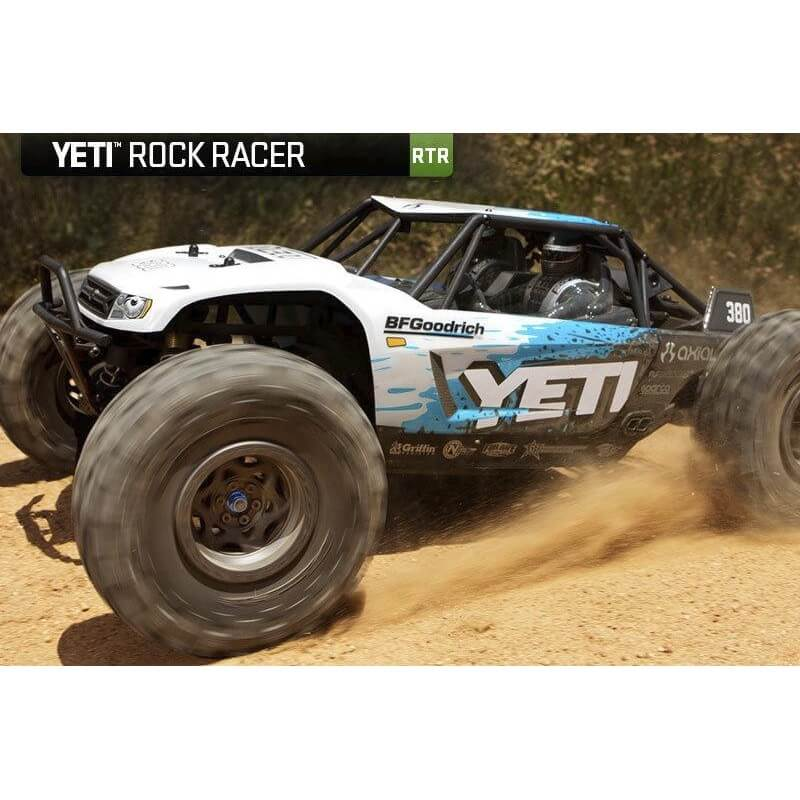 Axial YETI Rock Racer 1/10 4WD RTR - AXIAL AX 90026