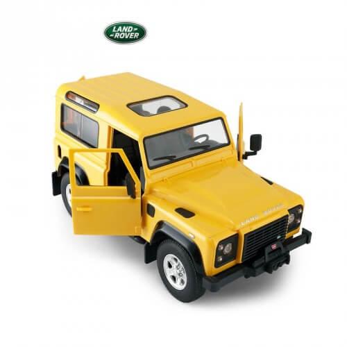 voiture t l guid e enfants 8 12 ans land rover defender 1. Black Bedroom Furniture Sets. Home Design Ideas