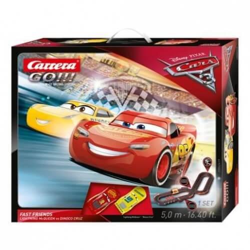 carrera go 62419 coffret disney pixar cars 3 fast friends. Black Bedroom Furniture Sets. Home Design Ideas
