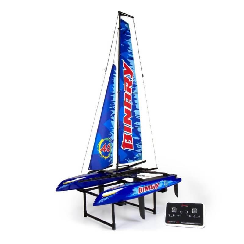 Binary Catamaran  2.4GHz  RTR - Bleu JOYSWAY 8807B