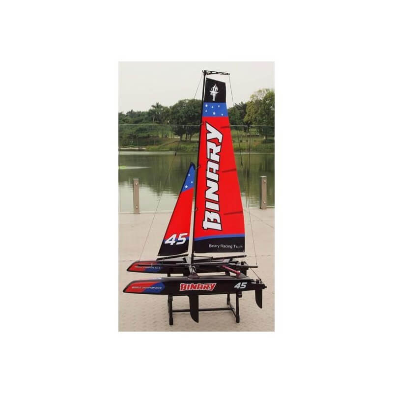 Binary Catamaran 2.4GHz  RTR - Rouge JOYSWAY 8807R