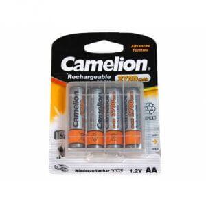 Pack 4 Piles AA Recharcheable Mignon 2300mAH