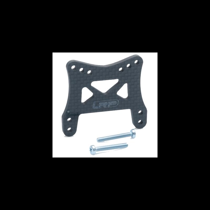 Support Amortisseur AV Carbone Twister TX/SC LRP 124606