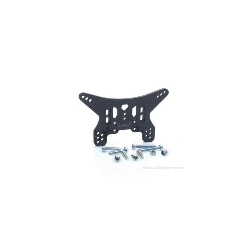 Support Amortisseur AR Carbone S10 Blast BX/TX/MT/SC LRP 124609