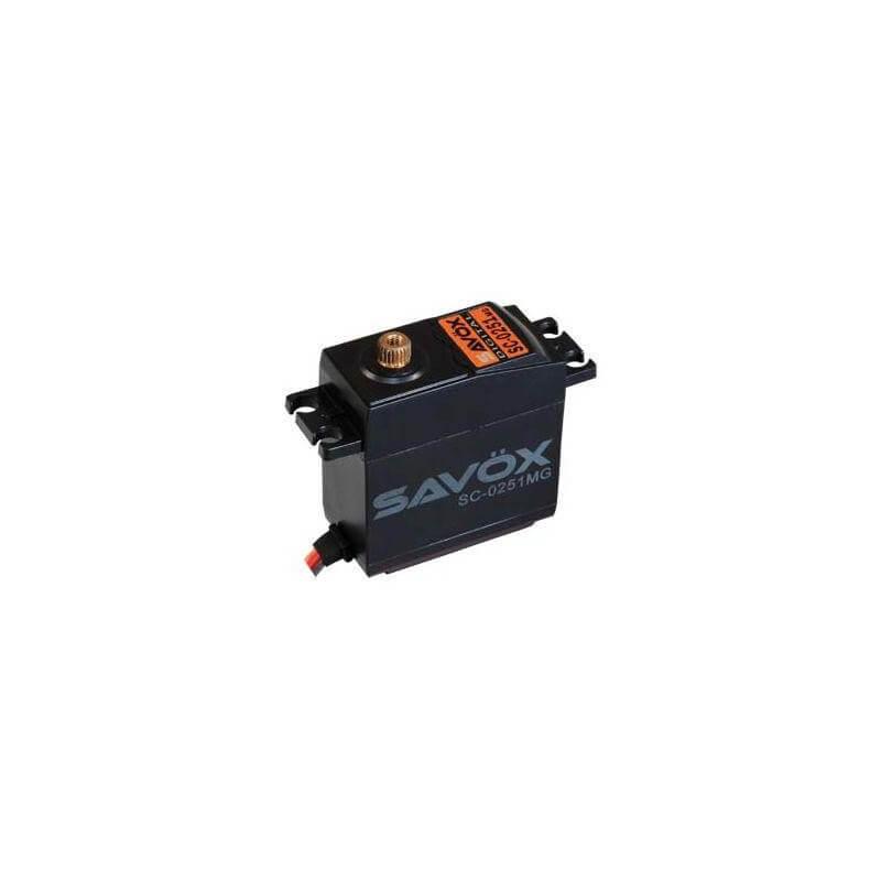 Servo Standard SAVOX SC-0251MG Digital 16kg-0.18s