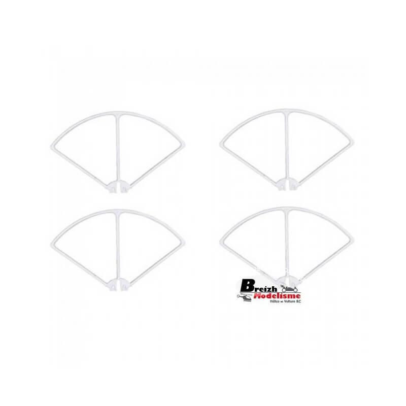 4 Protections Hélices SYMA X8C, X8HC, X8W, X8HW, X8G,X8HG, Spyrit max T2M